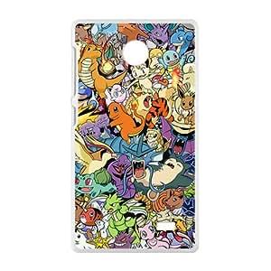 Pokemon unique cartoon design fashion Cell Phone Case for Nokia Lumia X