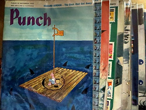 Punch UK Magazine Collection - 15 issues + Best Cartoons Book 1963-1966 VG-F/+