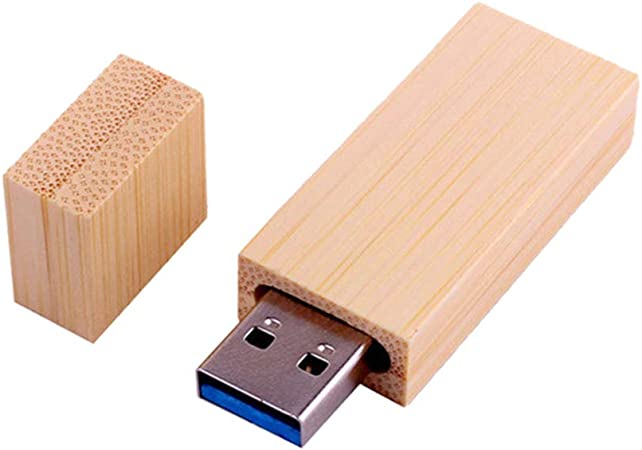DaoRier. U Disco Madera De Bambu U Disco Unidad De Memoria USB 2.0/3.0 Unidad De Memoria USB Unidad De Lápiz Lápiz De Memoria 5.3 * 1.2cm (8GB: Amazon.es: Electrónica