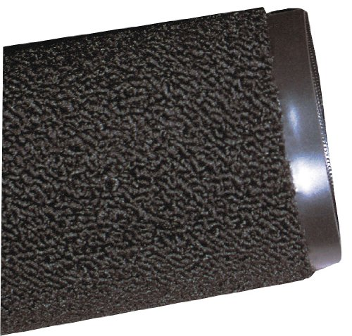 Carpeted Entrance Mat, Black, 4ft. x ()
