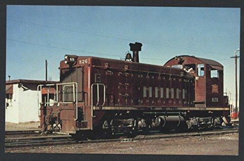 Rock Island 826 Pacific Chicago SW-8 Engine Railroad Postcard Train - Amarillo Photo Store
