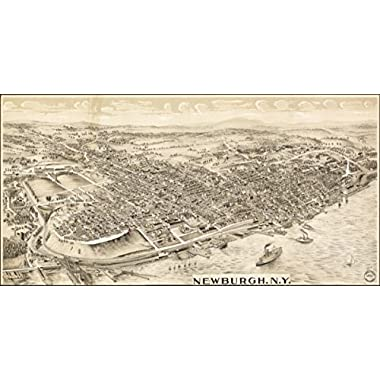 1900 map of Newburgh, New York Newburgh, N.Y.