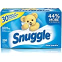 Snuggle 230 Count Blue Sparkle Fabric Softener Dryer Sheets