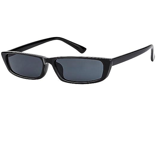 Amazon.com: Buauty Small Frame Sunglasses Stylish Fashion Designer ...