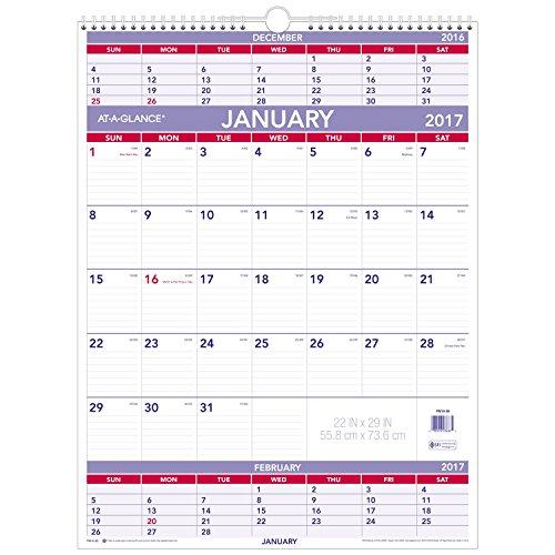 GLANCE Calendar Three Wirebound PM10 28 product image