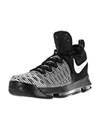 "NIKE Mens Zoom KD 9"" Mic Drop Black/White 843392-010 Size 11 Kevin Durant"