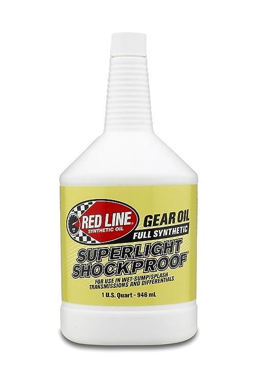 Red Line 58504 SuperLight ShockProof Gear Oil, 75W90 - 1 Quart Bottle