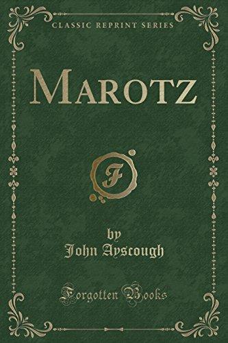 Marotz (Classic Reprint)