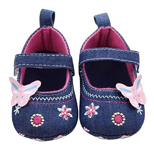 Baby Shoes Vovotrade Baby Butterfly Soft Sole Toddler Shoes First Walking Shoes for 0 18Month