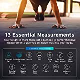 Etekcity Smart Bluetooth Body Fat Scale - Digital Bathroom Weight Scale with APP to Monitor 13 Body Composition Include Body Fat, BMI, BMR, Muscle, Bone, Protein and More, FDA Approved