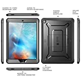 New iPad 9.7 2017 case, SUPCASE [Heavy Duty] [Unicorn Beetle PRO Series] Full-body Rugged Protective Case with Built-in Screen Protector & Dual Layer Design for Apple iPad 9.7 inch 2017 (Black/Black)