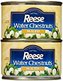 Reese Sliced Water Chestnuts-8 Oz-2 Pack