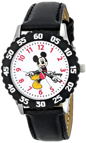 Disney W000237 Stainless Teacher Leather