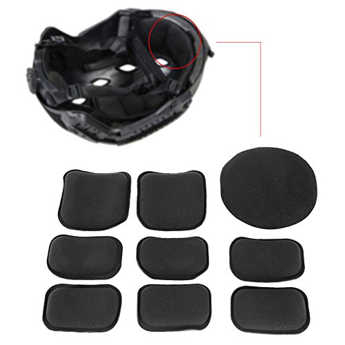 Tactical Helmet Pads 19pcs/set Soft and Durable EVA Motorcycle Helmet Replacement Accessories