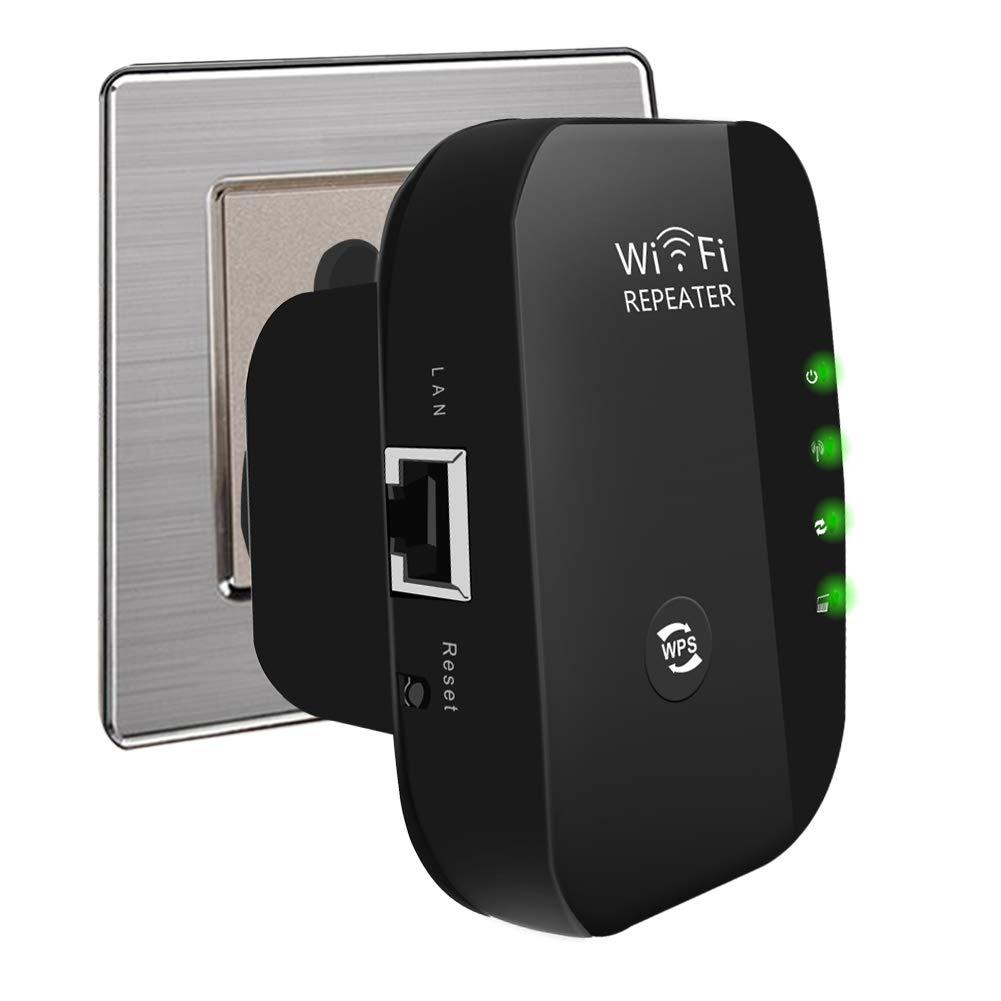 gaixample.org Black USBNOVEL WiFi Repeater Best Range Internet ...