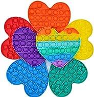 Pop Bubble Fidget Toy 7-Colors 7-Pack