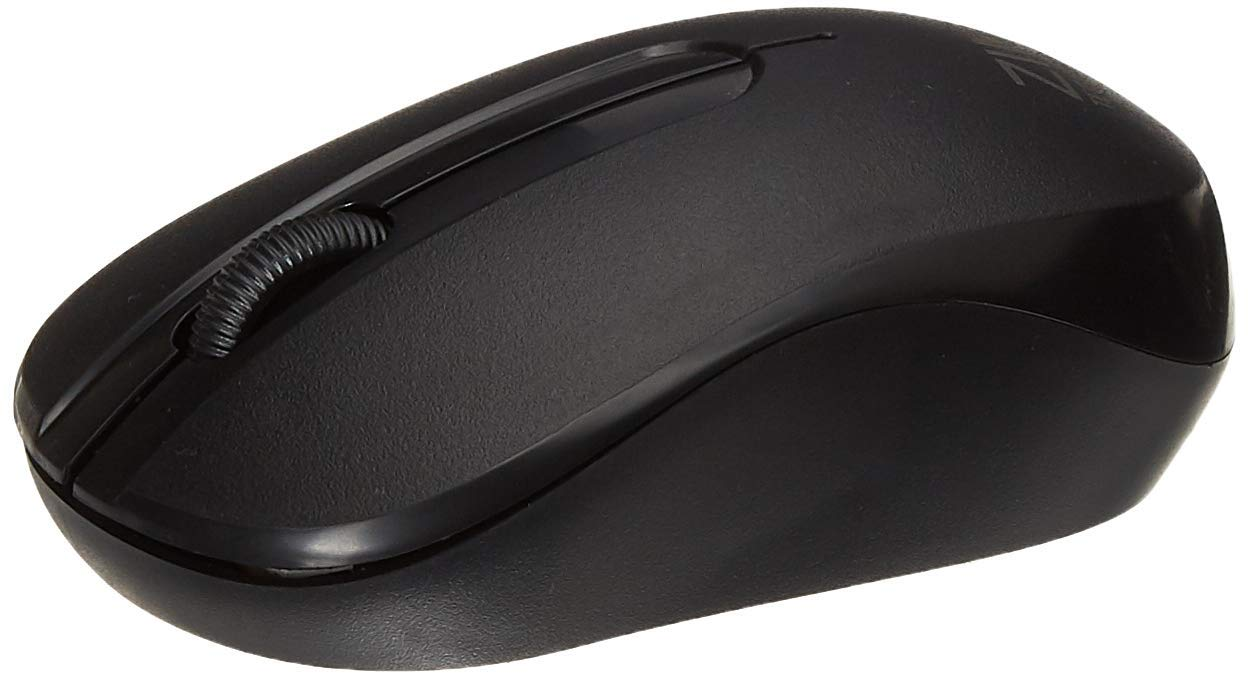 Zinq Technologies 818W Wireless Mouse with 1600DPI for Laptop and Desktop (Black)