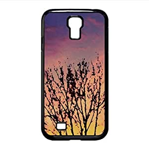 Winter Sunset Watercolor style Cover Samsung Galaxy S4 I9500 Case (Sun & Sky Watercolor style Cover Samsung Galaxy S4 I9500 Case)