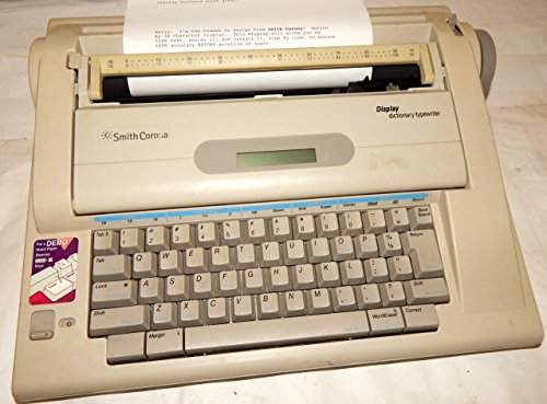 Smith Corona Dictionary Display Electronic Typewriter Model 900 by Smith Corona
