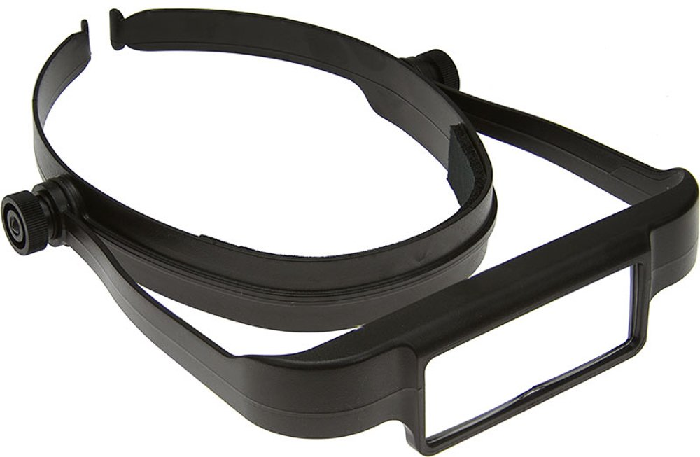 Donegan OSC OptiSIGHT Binocular Magnifying Visor, Black by Donegan Optical