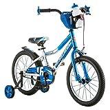 16' Schwinn Cosmo Boys' Bike, Blue/Gray