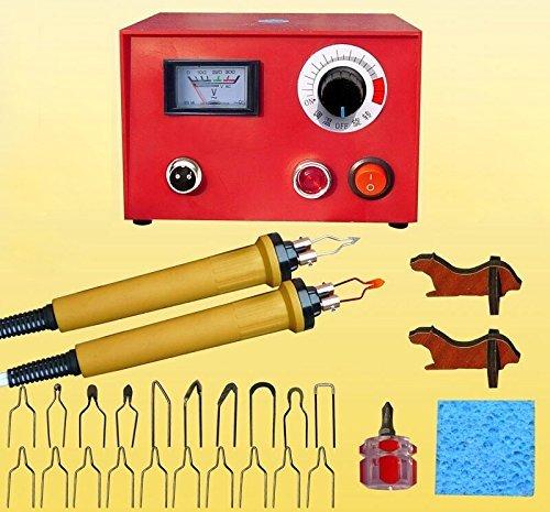 Versa Tool Creative - JIAN YA NA 110V 50W Wood Burning Tool Gourd Wood Crafts Tool Kit Multifunction Pyrography Machine