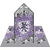 Marti Michell 6-Inch by 6-Inch Folding Magic Mirror