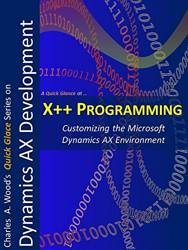 X++ Programming: A 1-Hour Crash Course (Quick Glance) Pdf