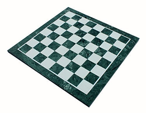 StonKraft 20'' X 20'' Collectible Green Marble Stone Large Chess Board Without Pieces - Appropriate Wooden & Brass Chess Pieces Chessmen separately availabe by StonKraft Brand by StonKraft (Image #3)