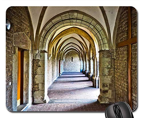 Mouse Pads - Church Cloister Architecture Monastery ()