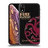 Official HBO Game of Thrones Targaryen House Mottos Soft Gel Case for iPhone XR