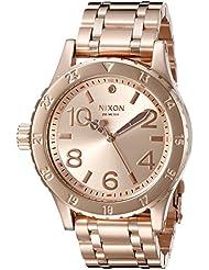 Nixon Womens A410897 38-20 Analog Display Japanese Quartz Rose Gold Watch