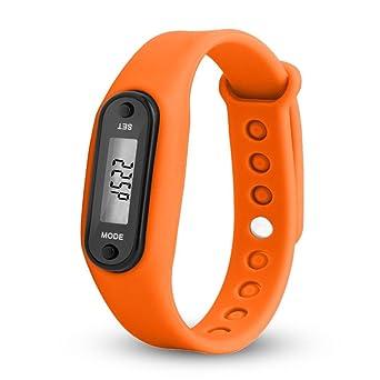 Podómetro contador de paso Sport pulsera Calorie detector LCD pantalla Digital podómetro Course, 0.23 pounds
