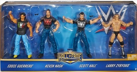 WWE Hall of Fame Elite Collection NWO Figure 4pk by WWE
