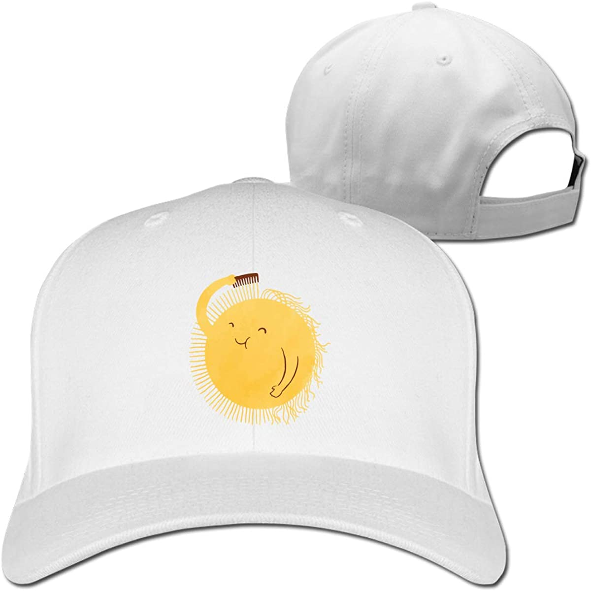 Sunshine Will BE Ready in A Minute Unisex Pure Color Baseball Cap Classic Adjustable Ball Hat