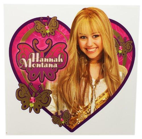 Hannah Montana Heart Shapped Sticker Birthday Party Favor (Stickers Favors Party Montana Hannah)