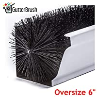 GutterBrush Simple Gutter Guard | For Oversize 6