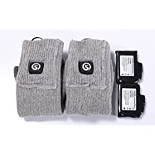 Savior 3.7V Battery Heated Socks Unisex Cotton Warm Thick Socks For Winter Out Door Sports
