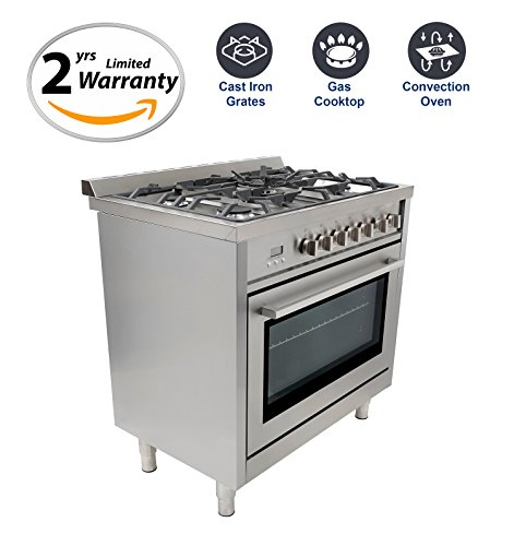 36 in convection oven range - 1