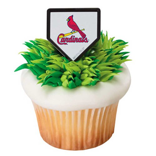 MLB St. Louis Cardinals Cupcake Rings 12 -