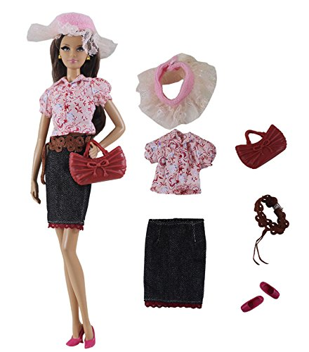 HongShun 1 Set Fashion Casual Wear Clothes Outfit for 11 inch Doll Clothes