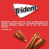 Trident Cinnamon Sugar Free Gum, 24 Packs of 14