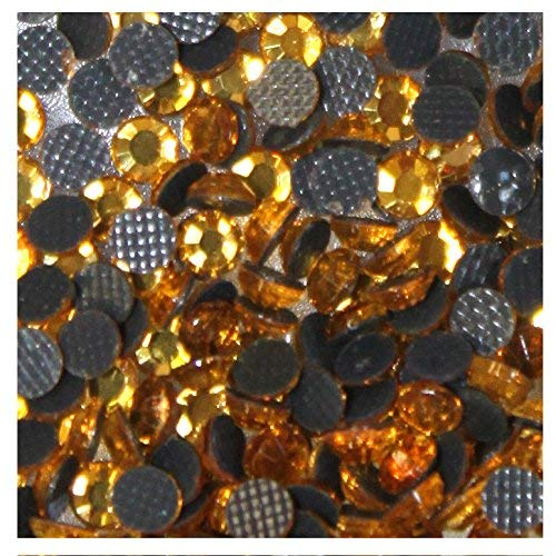 114 1000/ STRASS hotfix S6/ 2/ mm Gold Oro N