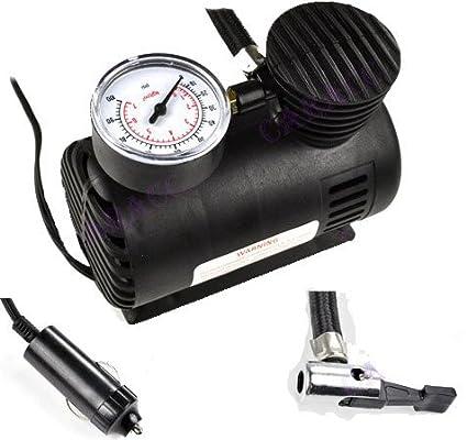 Gran Valor Herramienta del compresor de Aire 12 V portátil eléctrico – Bomba para neumáticos inflador