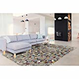 Contemporary Eva Area Rug Home Decor Discount Rugs Living Family Bed Room Floor Carpets (7 ft. 6.5 in. x 5 ft. 2.9 in.)
