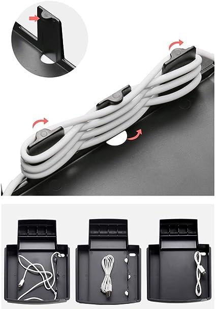 Moligh doll Auto Zentral Konsole Aufbewahrungs Box Telefon Halter f/ür Mercedes GLK Klasse X204 2008-2012 Linkslenker
