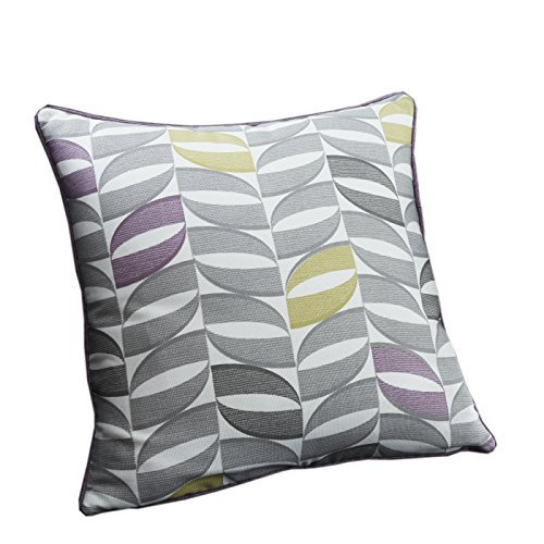 One 'Copeland' Filled Cushion 17x17 (43x43 cm) in Heather by Fusion - Copeland Tub