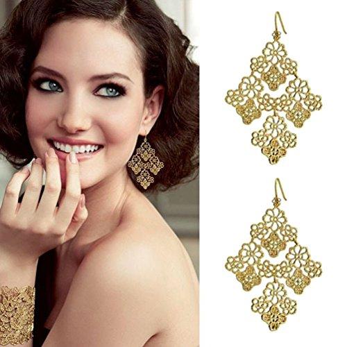 Daisy Clip Earrings (Fun Daisy New Fashion Personality Bohemian Earrings Female)