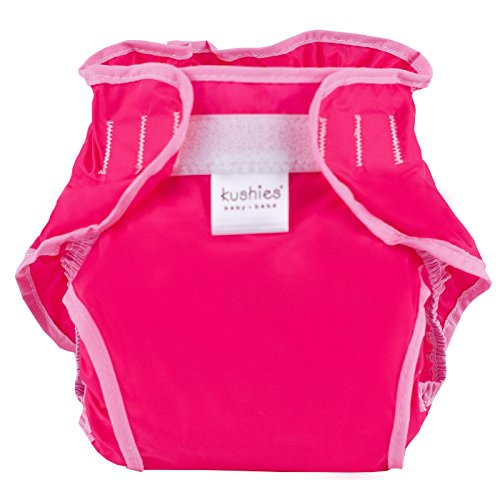 Kushies Waterproof Diaper Wrap, Fuchsia Solid, Toddler