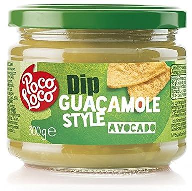 Poco Loco, Salsa para untar (Guacamole) - 6 de 300 gr. (Total 1800 gr.): Amazon.es: Alimentación y bebidas